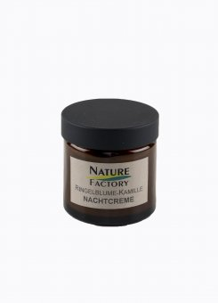 Nature Factory Nachtcreme Ringelblume Kamille 50 ml