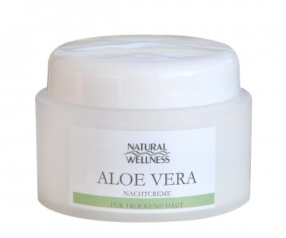 Natural Wellness - Aloe Vera - Nachtcreme 50 ml