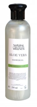 Natural Wellness - Aloe Vera - Showergel 250 ml