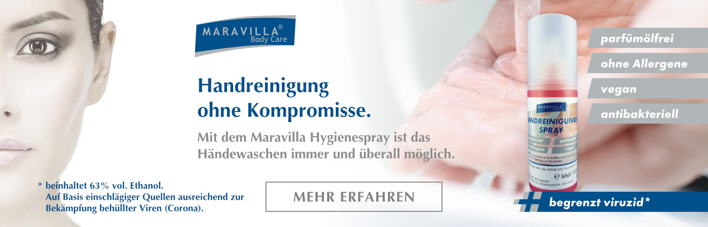 Marvilla Handreinigung Hygienespray